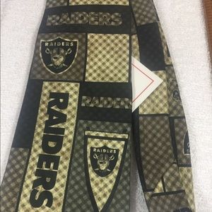 Men's NFL Oakland Raiders Dress Tie-NWT